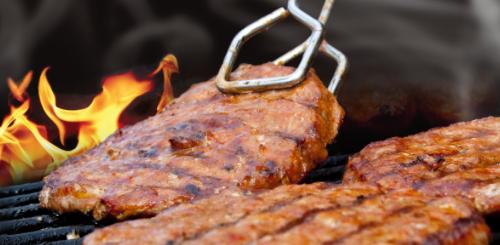 Barbecue in amsterdamse parken