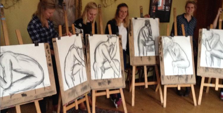 Amsterdam naakt schilderen