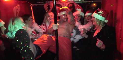 brandweerwagen party bus